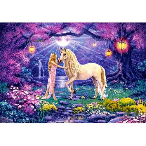 Пазл «Единорог в саду» (C-103614)