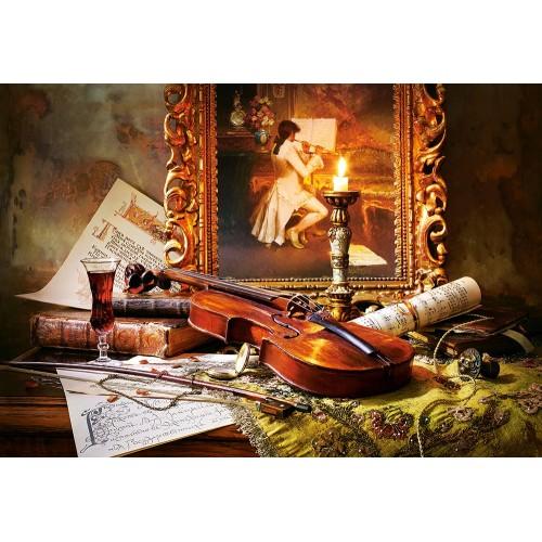 Пазл Натюрморт со скрипкой (C-103621)