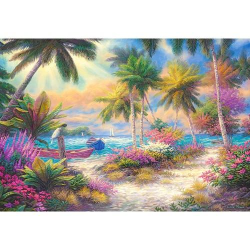 Пазл Остров пальм (C-103942)