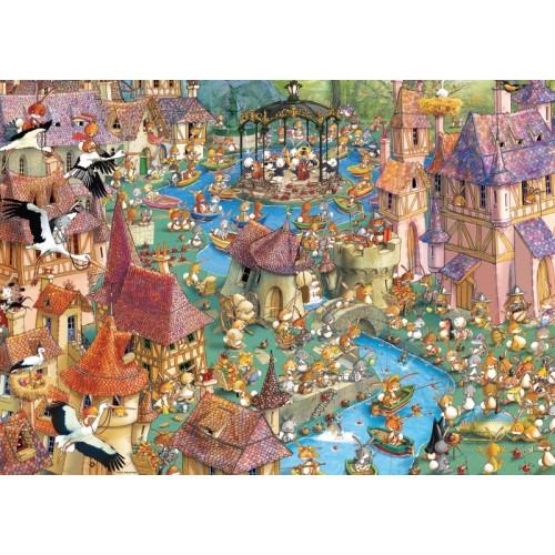 Пазл «Город кроликов» (29496)