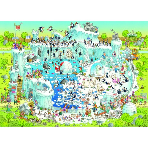 Пазл «Полярный зоопарк» (29692) 1000 элементов