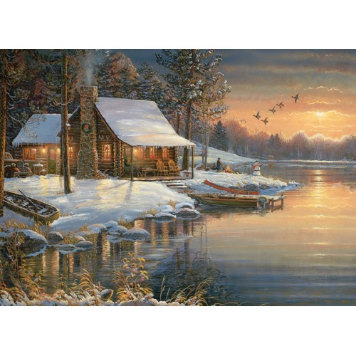 Зимой на озере (51675)