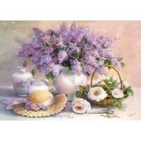 Пазл «Цветы, живопись» (C-102006)