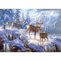 Пазл Зимние горы (C-102501)
