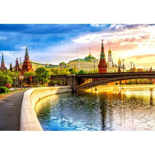 Пазл «Набережная, Москва» (C-103348)