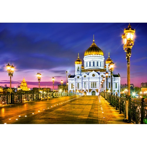 Пазл «Храм Христа Спасителя, Москва» (C-103355)
