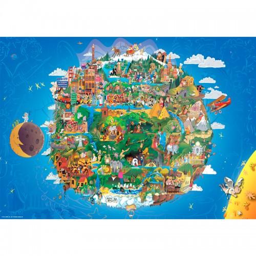 Пазл «Земля - вид из Космоса» (29521)