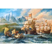 Пазл «Приключения в Новом Свете» (C-151349)