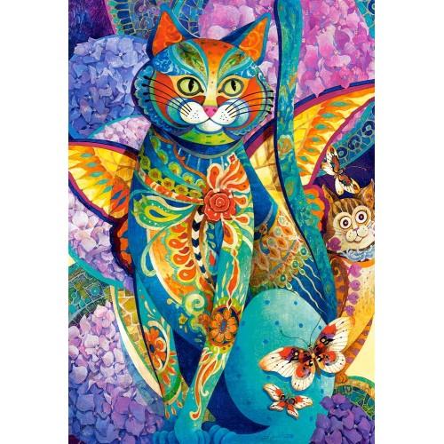 Пазл «Кошачья фиеста» (C-151448) 1500 элементов