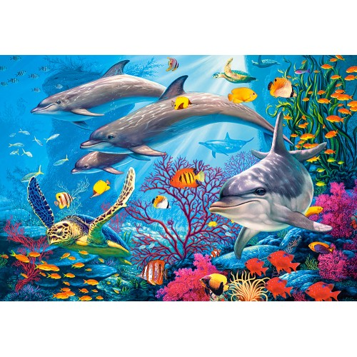 Пазл «Секреты рифа» (C-151486)