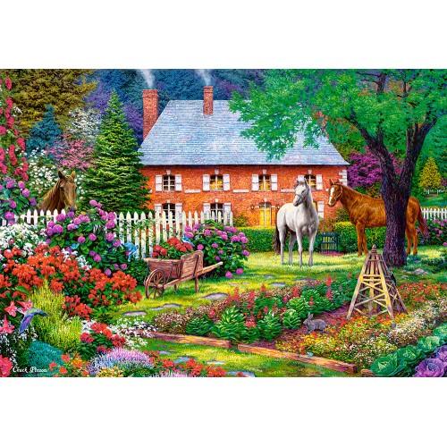 Пазл Чудесный сад (C-151523) 1500 элементов