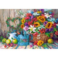 Пазл Садовые цветы (C-151684)