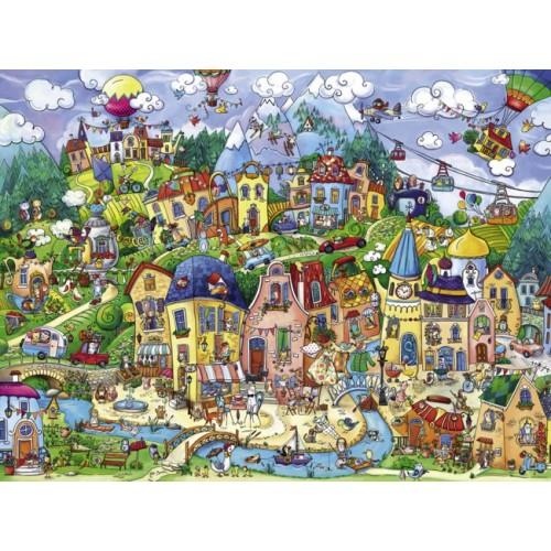 Пазл «Счастливый город» (29744)