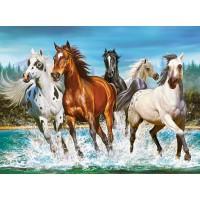 Пазл Бегущие лошади (C-200702)