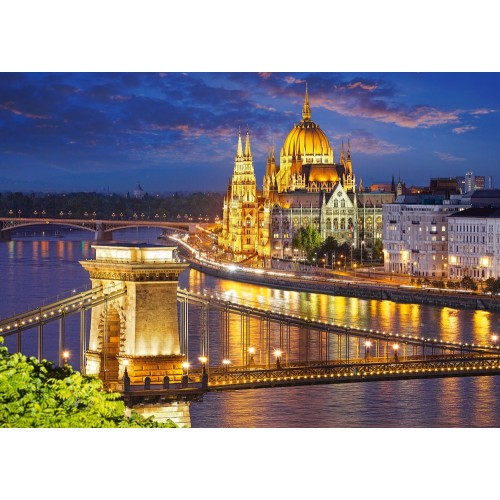 Пазл Будапешт в сумерках (C-200405)