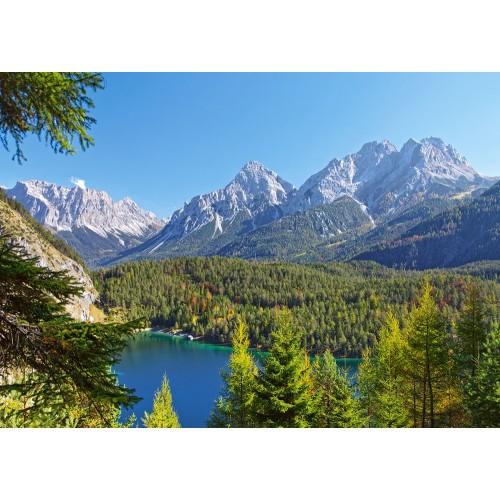 Пазл Озеро в Альпах, Австрия (C-300242)