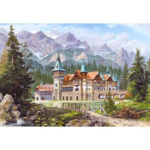Пазл «Замок у подножия гор» (C-300099)