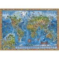 Пазл «Географическая карта» (29386)