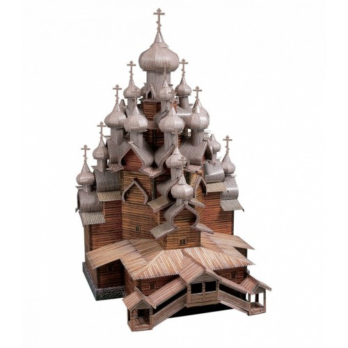 3D пазл «Церковь Преображения Господня (о. Кижи)» (151)