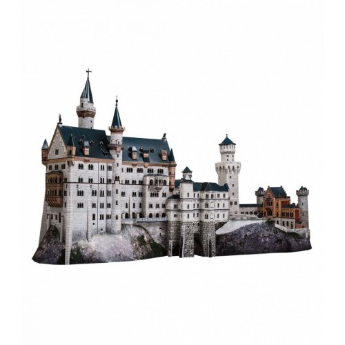 3D пазл «Замок Нойшванштайн, Германия» (157)