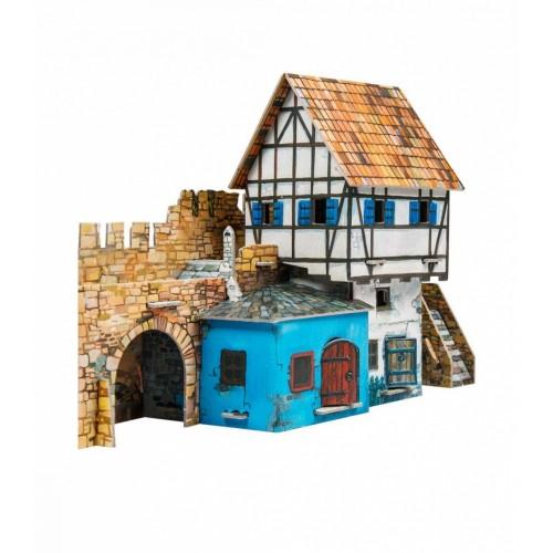 3D пазл «Дом у стены» (250)