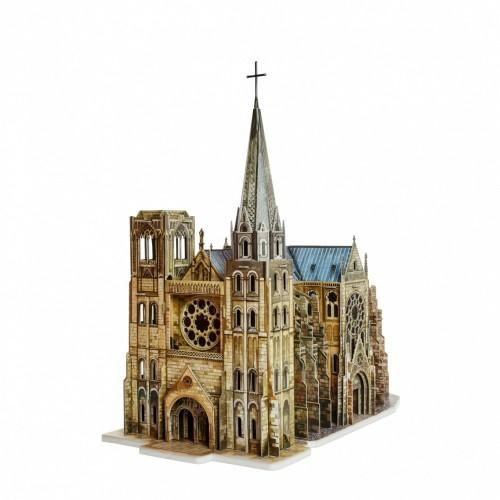 3D пазл «Готический собор» (255)