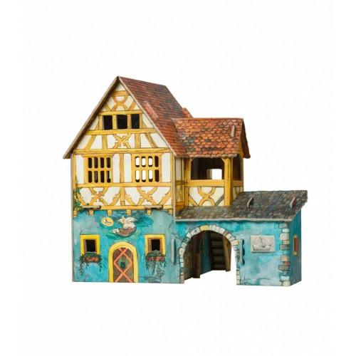 3D пазл «Дом моряка (Дом с кораблем)» (284)