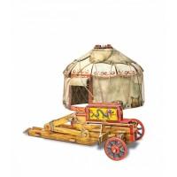 3D пазл «Осадный лагерь кочевников» (355)