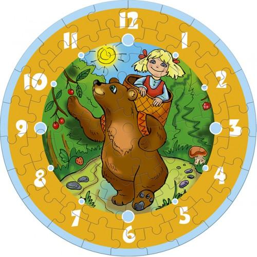 Пазл «Маша и Медведь» (126-02)
