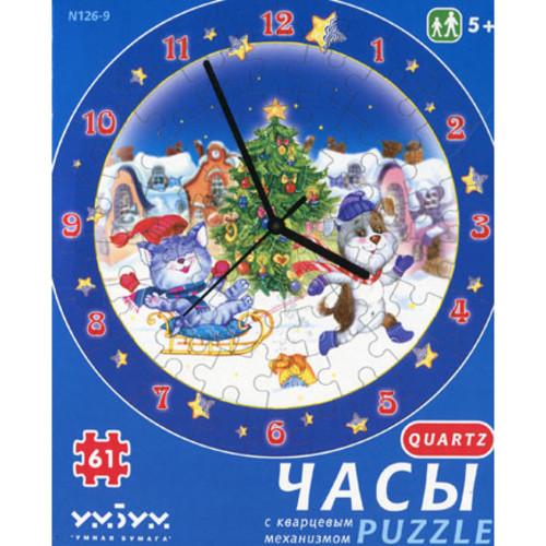Пазл «Новогодние забавы» (126-09)