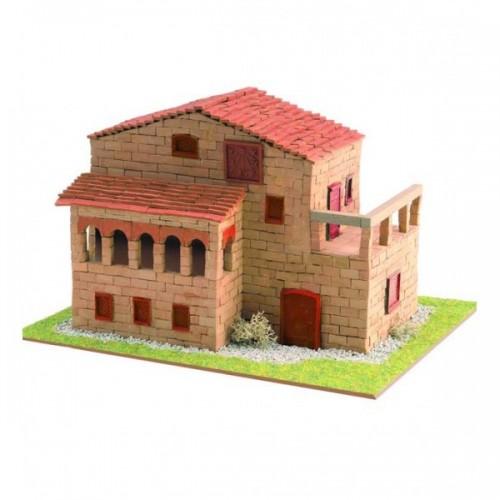 3D пазл из обожженной глины «Помещичий дом» (30331)
