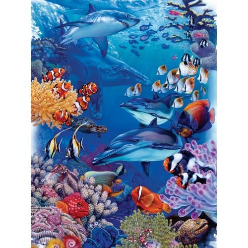 Океанские обитатели (54579) 400 элемнтов