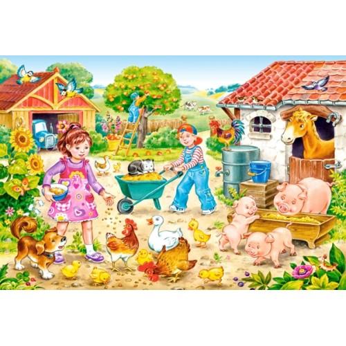 Пазл «Ферма» (B-040087)