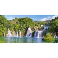 Пазл Водопады Крка, Хорватия (С-400133)