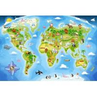 Пазл «Карта мира» (B-040117)
