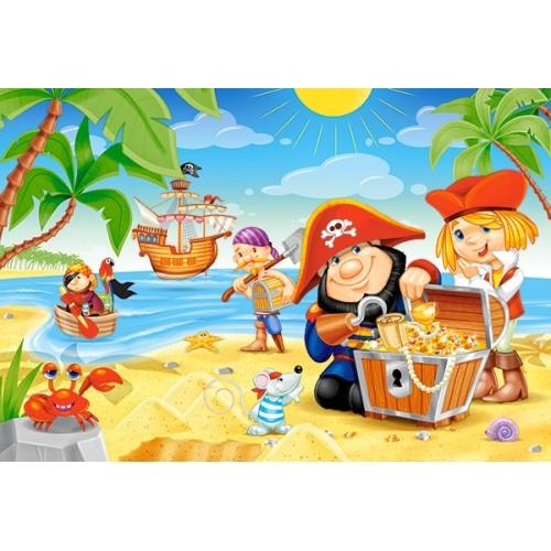 Пазл Пиратские сокровища (B-040148)
