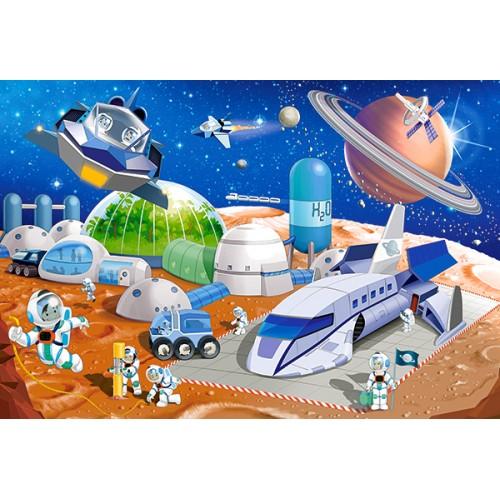 Пазл Космическая станция B-040230