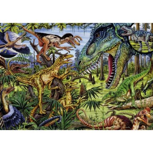 Пазл «Динозавры-хищники» (29660)