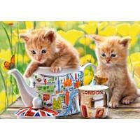 Пазл «Время чаепития - котята» (B-52356)