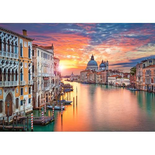 Пазл «Венеция на закате» (B-52479)