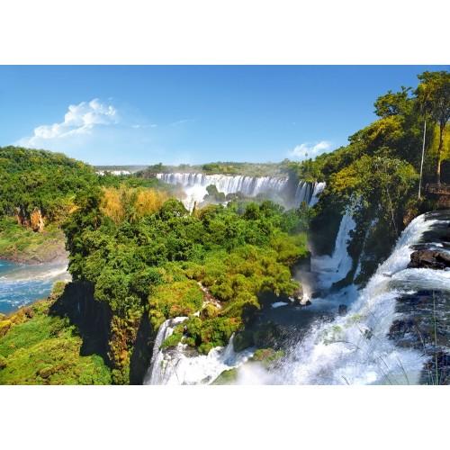 Пазл «Водопады Игуасу, Аргентина» (C-101917)