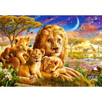 Пазл «Семья львов» (B-52134)