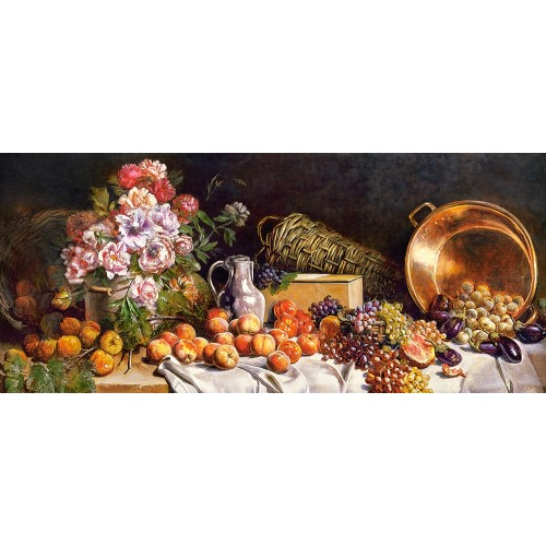 Пазл Натюрморт с цветами (B-060108) Пазлы в подарок к праздникам