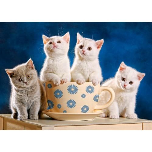 Пазл «Четыре котенка в поисках молока» (B-52042)