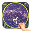 """Магнитный пазл """"Карта созвездий северного полушария"""" на доске 32х51"""
