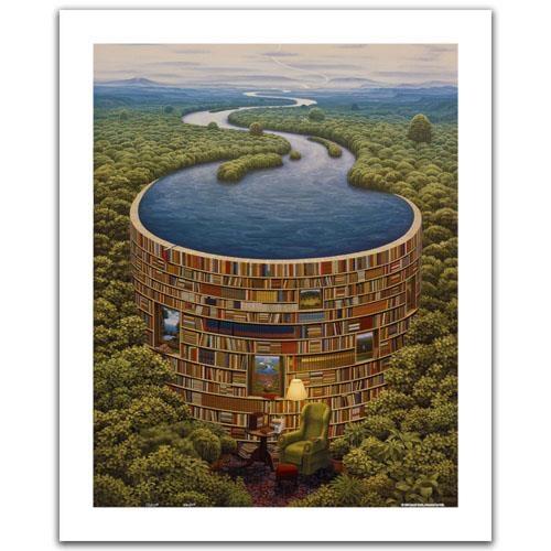Пазл «Библиотека. Яцек Йерка» (Н1647)