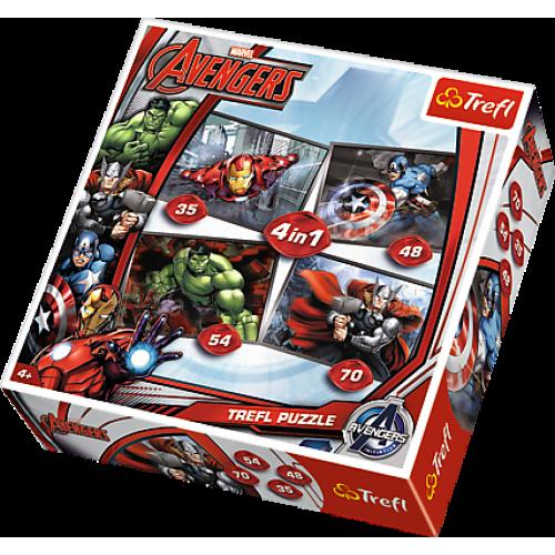 Пазл «Мстители, Marvel Comics» (34245)