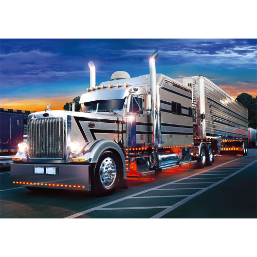 Пазл «Серебряный грузовик» (37121)